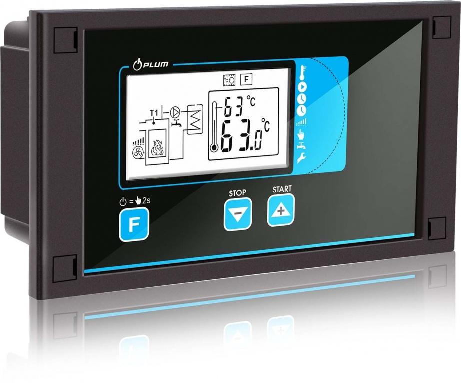 EcoMax 250 malkas katlu automatizācija