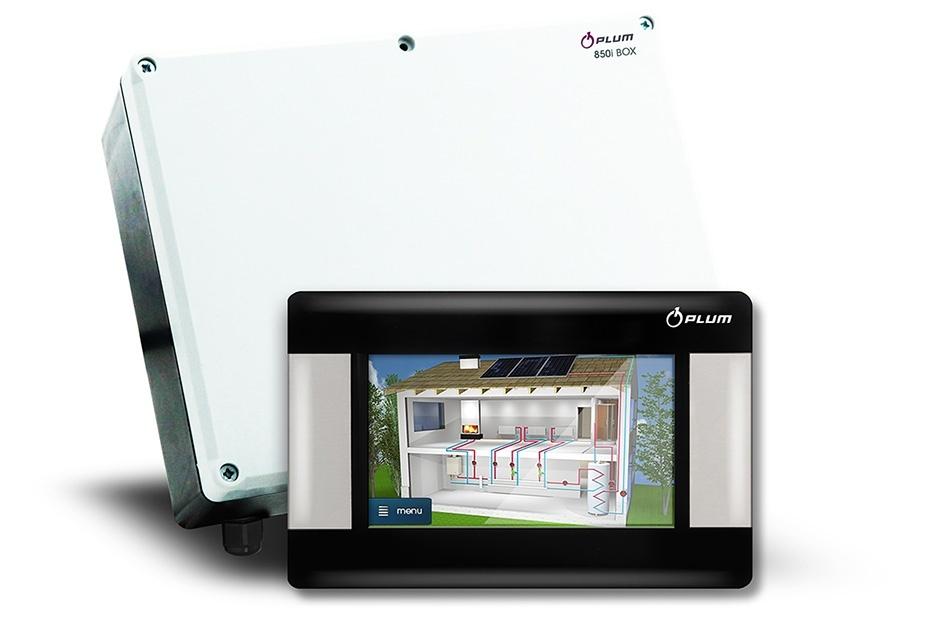 EcoMax 850 i apkures sistēmas vadība